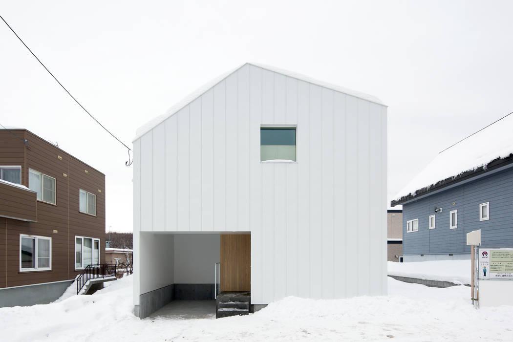 一級建築士事務所 Atelier Casa Rumah Gaya Eklektik Besi/Baja White