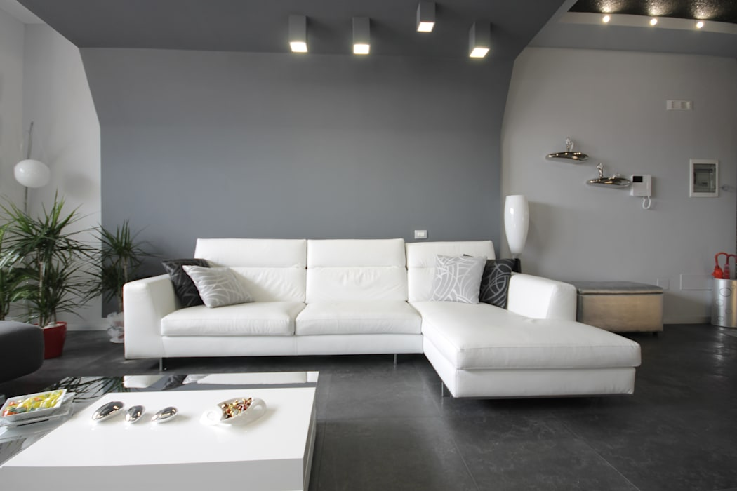 Living room by Studio Ferlenda, Modern