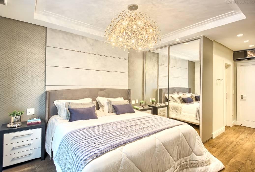 Apartamento - pé direito duplo Spengler Decor Quartos modernos
