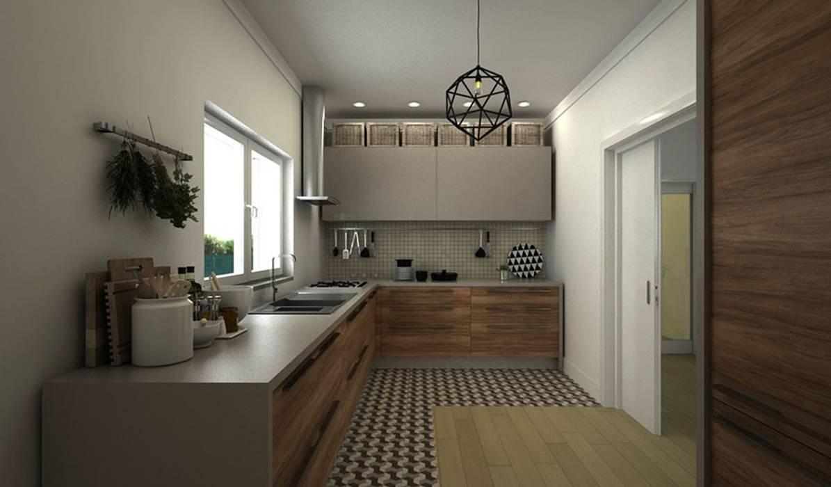 Nhà bếp phong cách hiện đại bởi Maqet Hiện đại