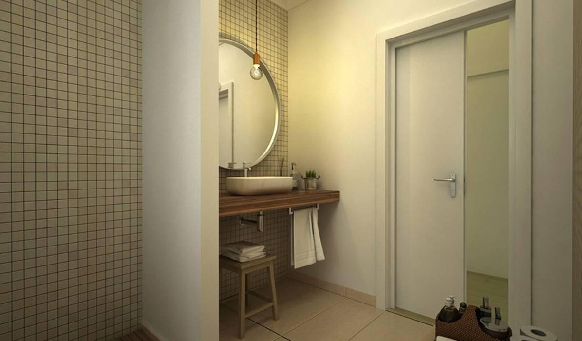 Badezimmer von Maqet,