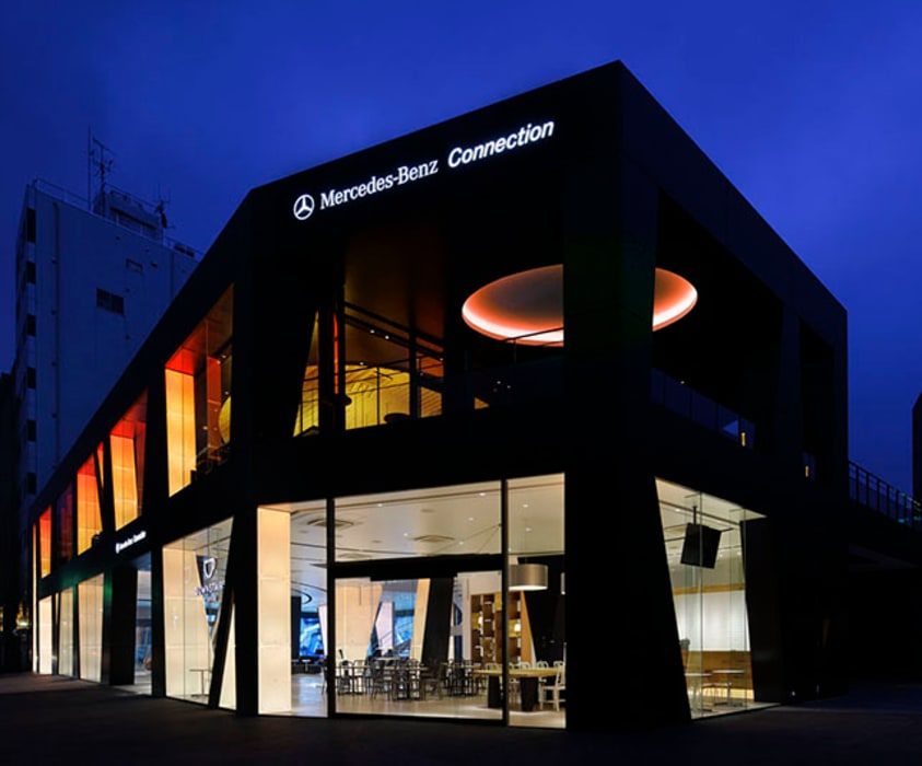 Mercedes-Benz Connection TOKYO WORKTECHT CORPORATION 自動車ディーラー