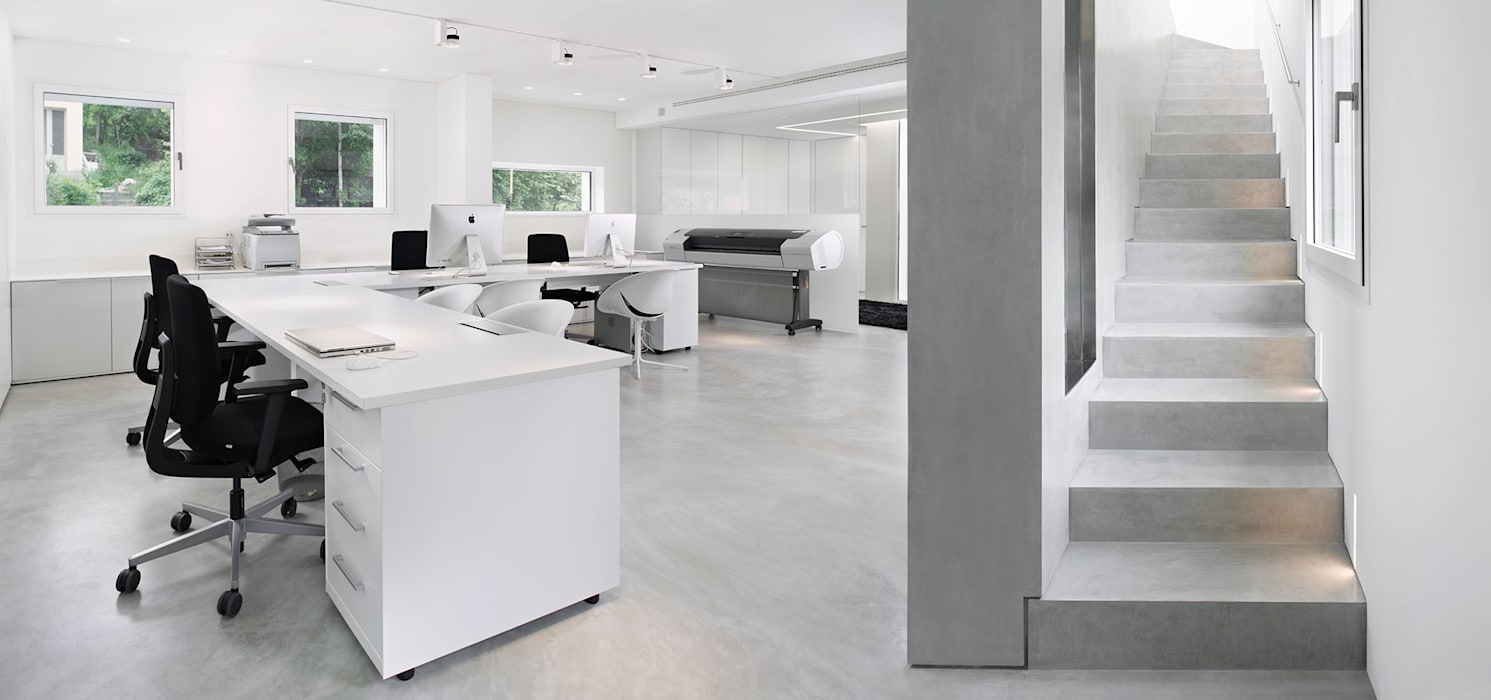 Walls & flooring by IDEAL WORK,