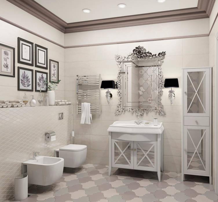 Северный остров Ванная комната в эклектичном стиле от Be In Art Эклектичный Керамика