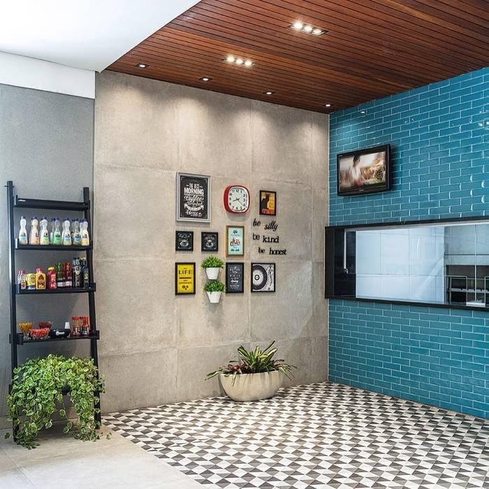 Restaurante Junior: Espaços gastronômicos  por Mobile Arquitetura,Moderno