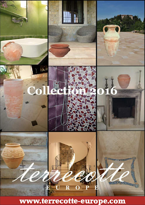 Presenting our Collection 2016 Mediterranean style hotels by Terrecotte Europe Mediterranean Tiles