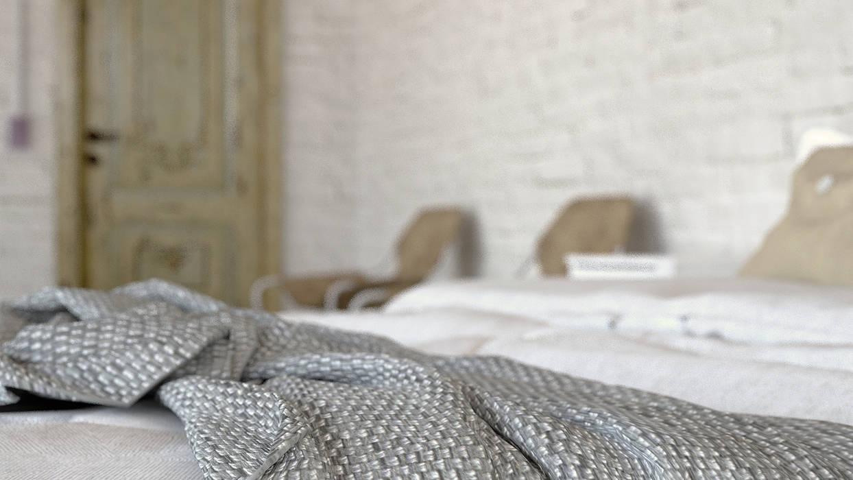 Phòng ngủ phong cách công nghiệp bởi Antony Simões Studio Công nghiệp