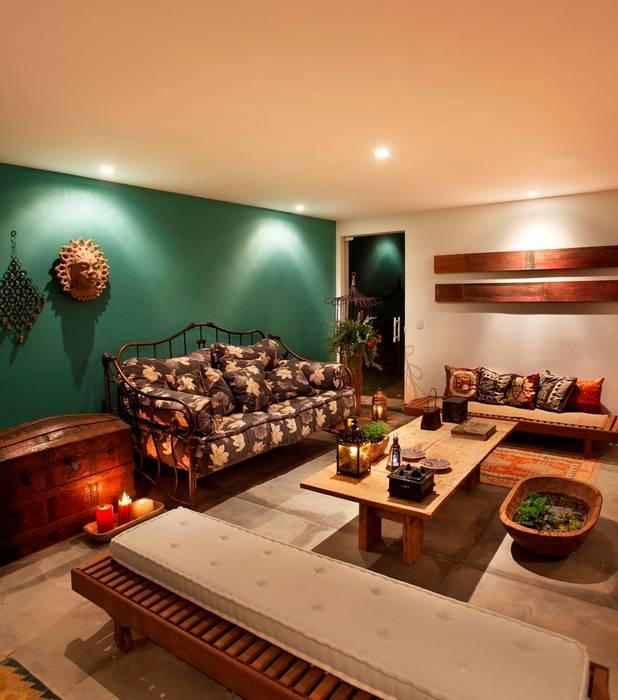 Casa Minas Gerais Carlos Salles Arquitetura e Interiores Salas de estar modernas