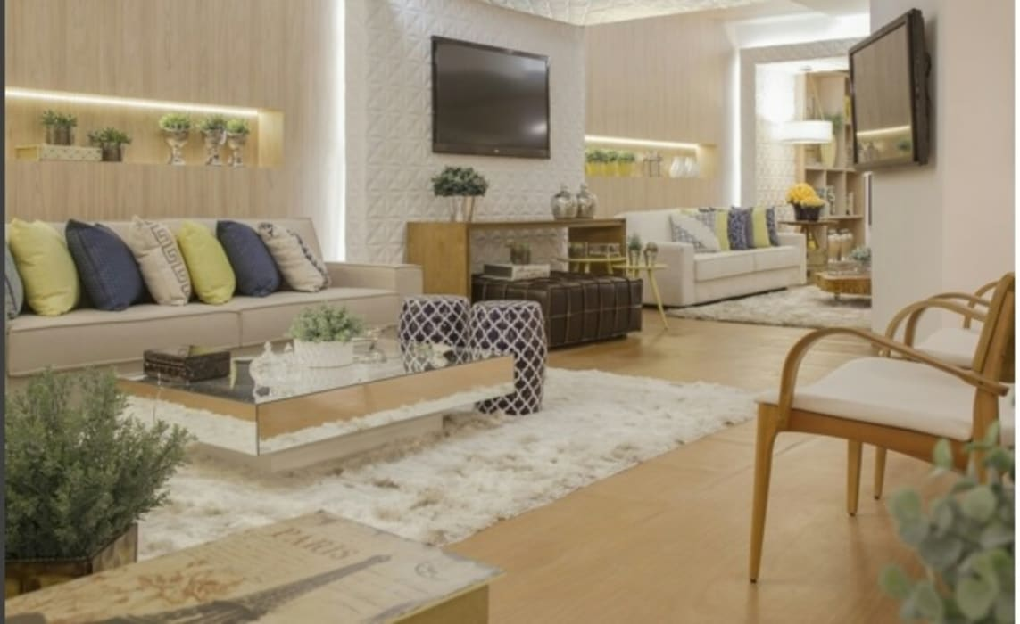 Modern event venues by Beatrice Oliveira - Tricelle Home, Decor e Design Modern