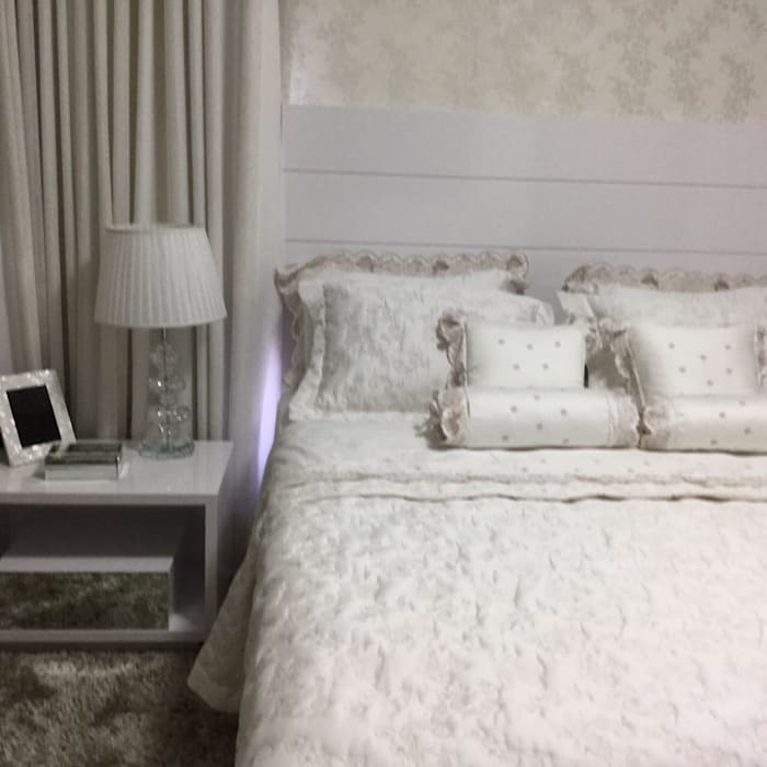 Beatrice Oliveira - Tricelle Home, Decor e Design Modern style bedroom
