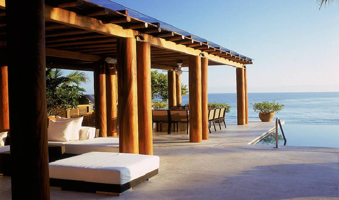 Terrasse de style  par José Vigil Arquitectos