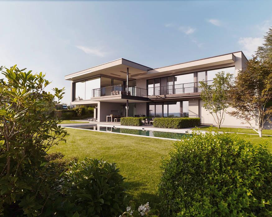 Casas modernas: Ideas, imágenes y decoración de meier architekten zürich Moderno