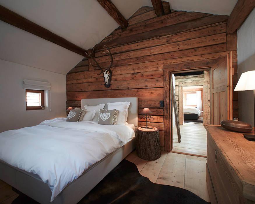 Objekt 322 / meier architekten meier architekten zürich Schlafzimmer im Landhausstil Holz