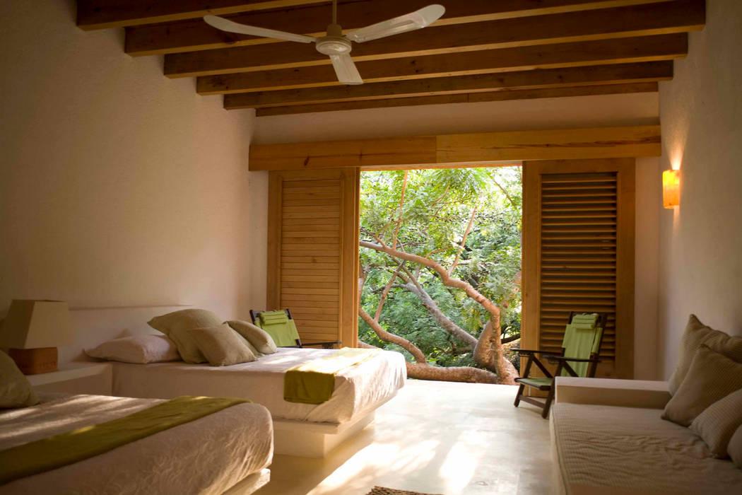 Dormitorios de estilo moderno de José Vigil Arquitectos Moderno