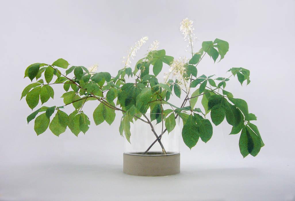 Concrete flower vase Betoniu GmbH Interior landscaping
