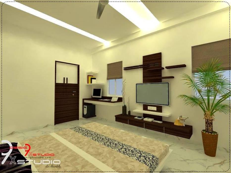 Bedroom designs:  Bedroom by Desig9x Studio,
