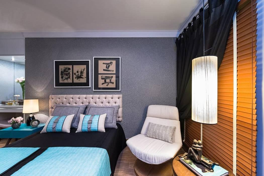 Modern style bedroom by Giovana Carvalho Arquitetura e Interiores Modern