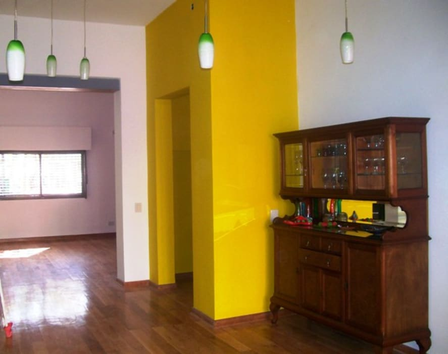 Reforma Casa en Caballito C.A.B.A: Comedores de estilo  por AyC Arquitectura,Moderno