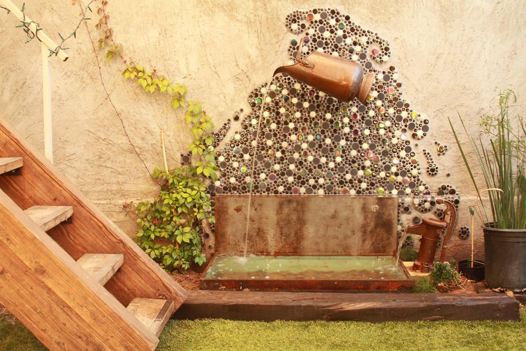 rustic  by Oscar Leon/ Arte Renovable & Muebles, Rustic