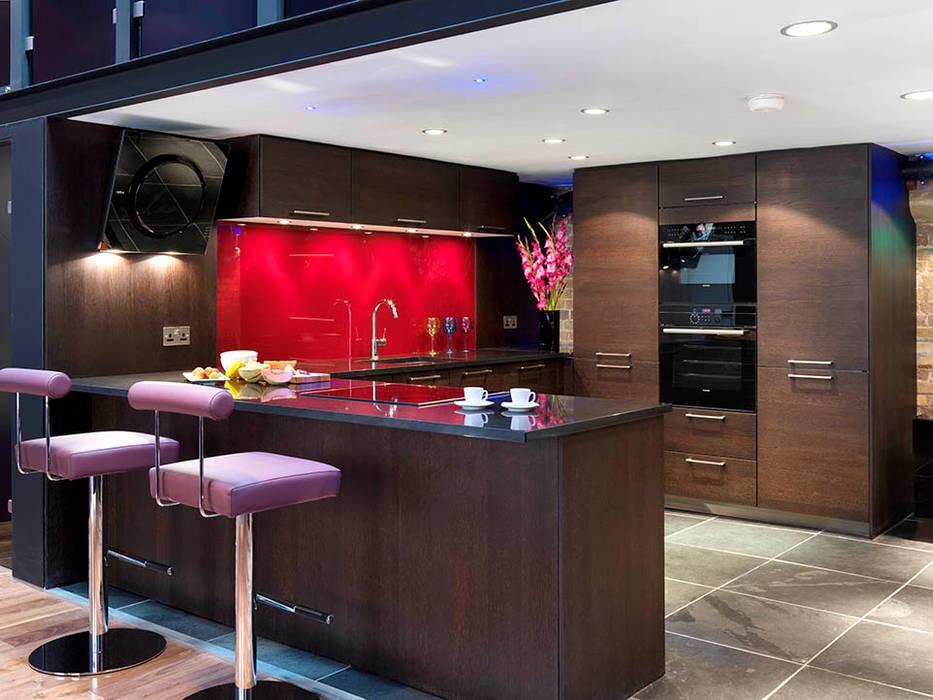 Kitchen Interior Design Quirke McNamara Industrial style kitchen Red