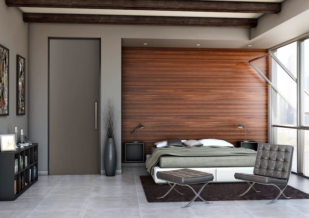 Render Modern style bedroom by asf Modern