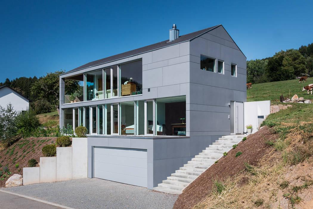 Wohnhaus in Elzach René Lamb Fotodesign GmbH Moderne Häuser