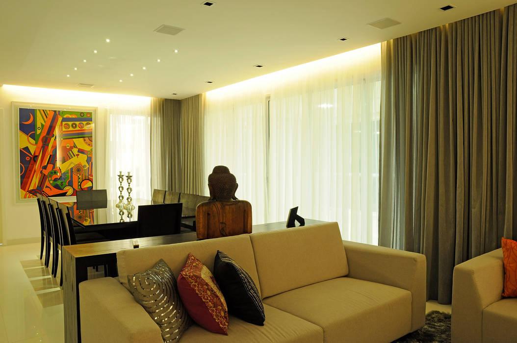 Politi Matteo Arquitetura Ruang Keluarga Modern