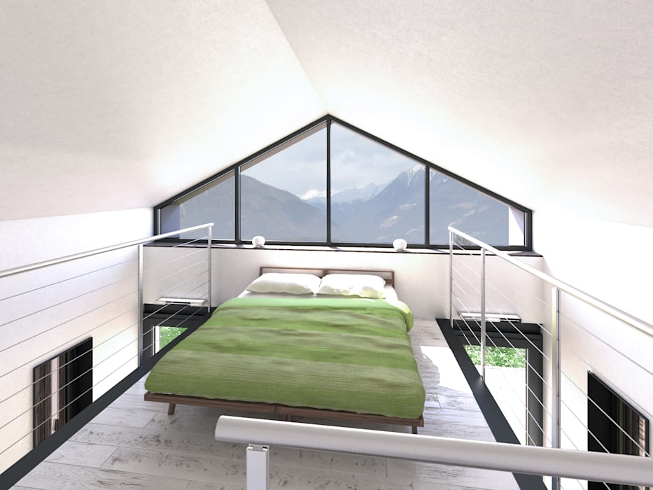 Lavori Dormitorios de estilo moderno de 3d-arch Moderno