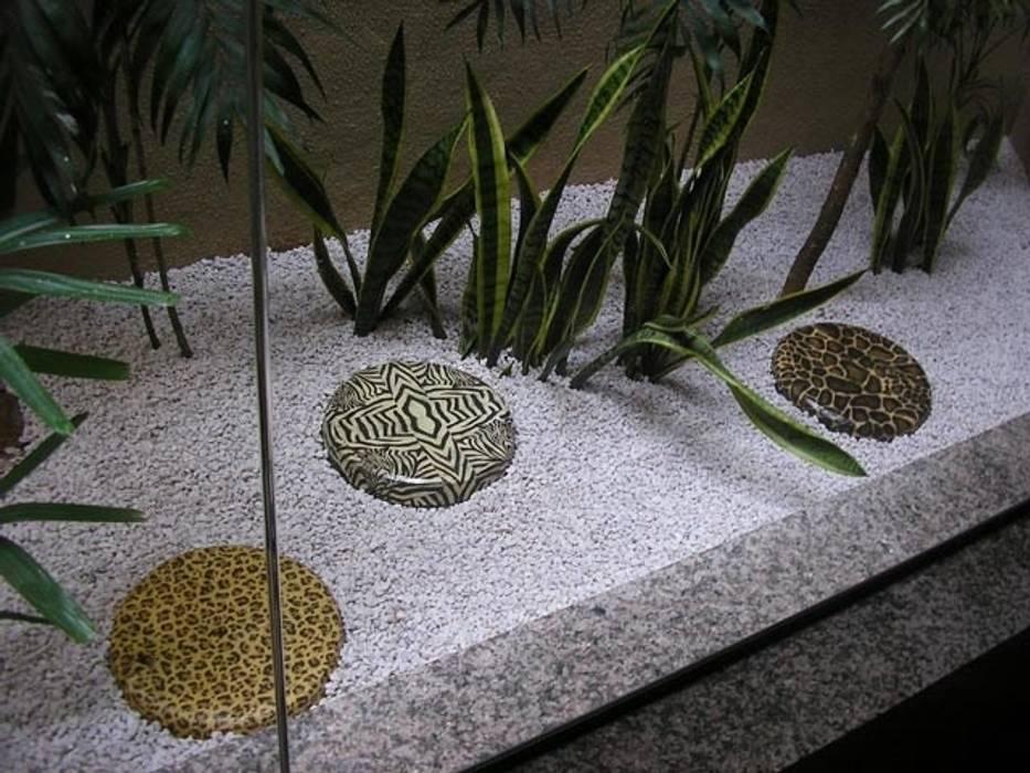 Muestras de trabajo: Jardines de estilo  por Jardines Paisajismo Y Decoraciones Elyflor, Moderno