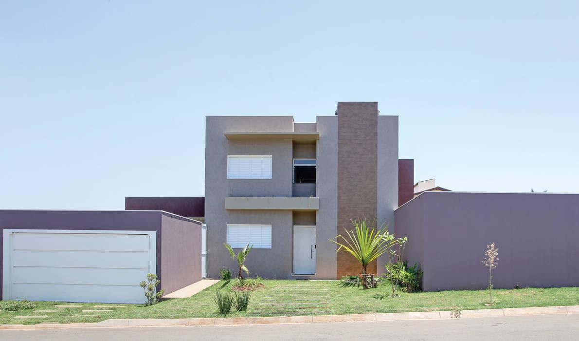 Casas de estilo  por Híbrida Arquitetura, Engenharia e Construção