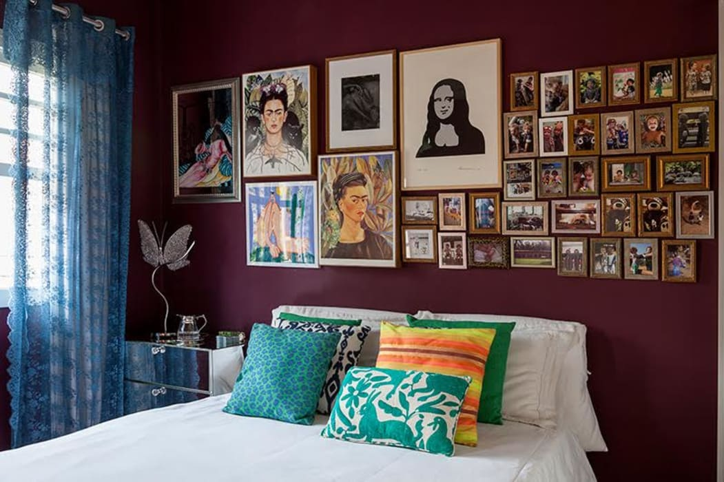 Modern style bedroom by Julia Ribeiro Fotografia Modern