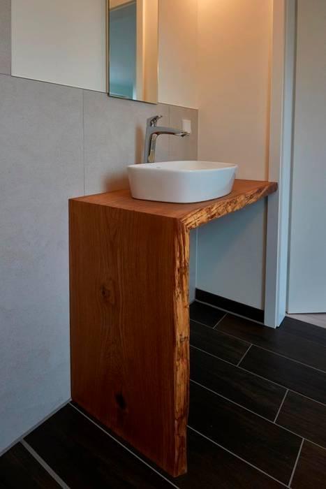Waschtisch Eiche Mit Baumkante Badezimmer Von Artfischer Die