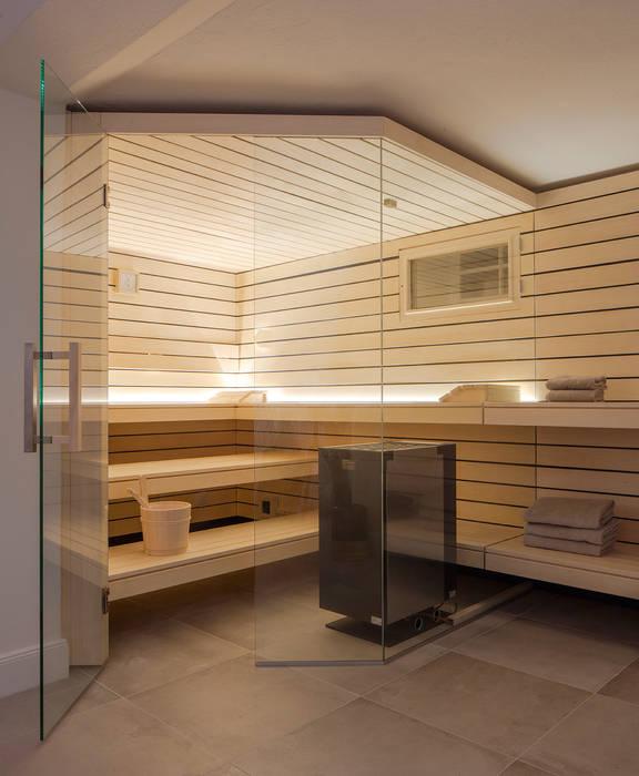 Design-sauna mit glasfront: sauna von corso sauna manufaktur ...