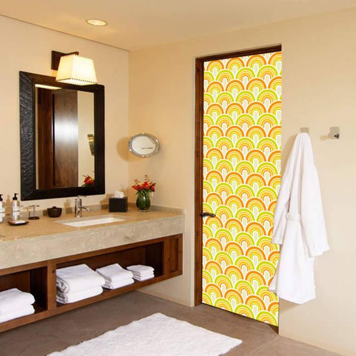 modern  oleh DoorDresser, Modern Tekstil Amber/Gold