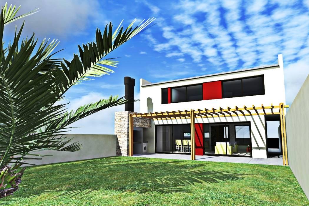 Casas de estilo  por epb arquitectura,