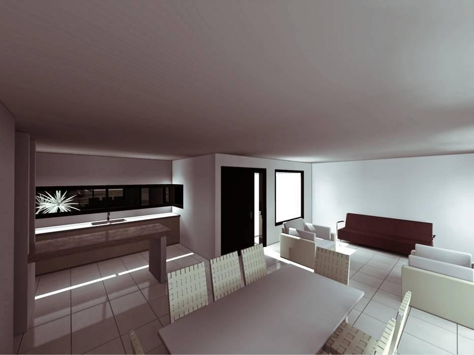 Wohnzimmer von epb arquitectura,