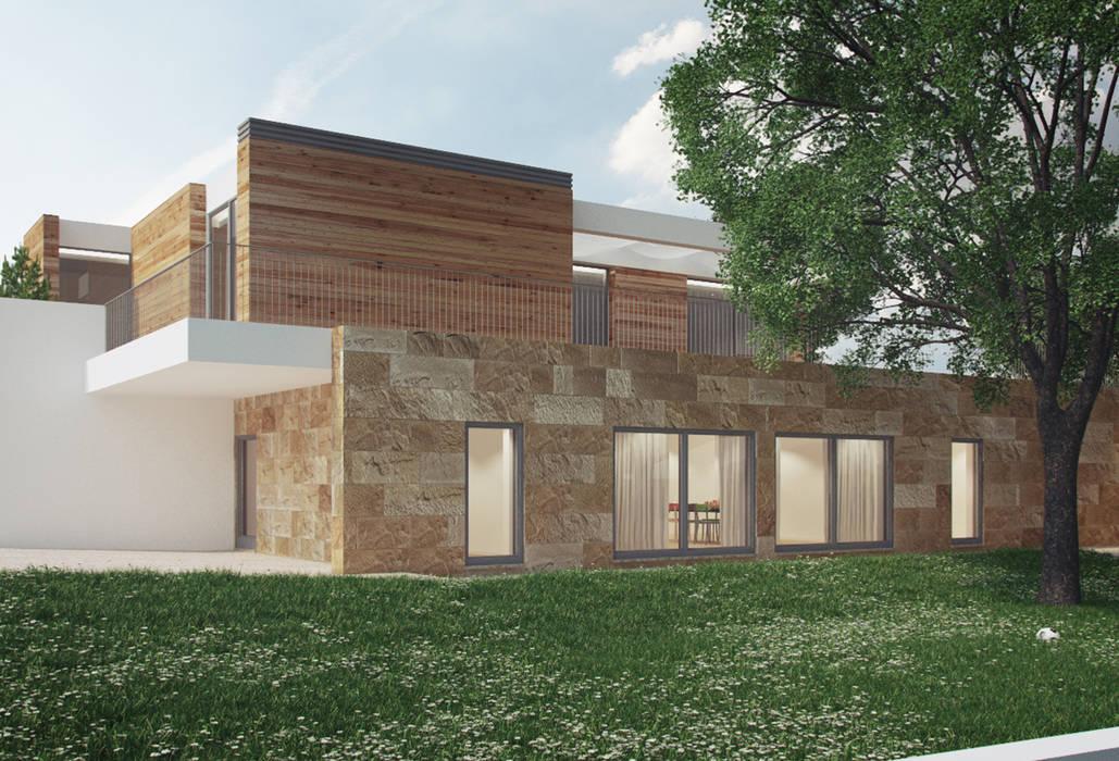 Casas modernas por ASVS Arquitectos Associados Moderno