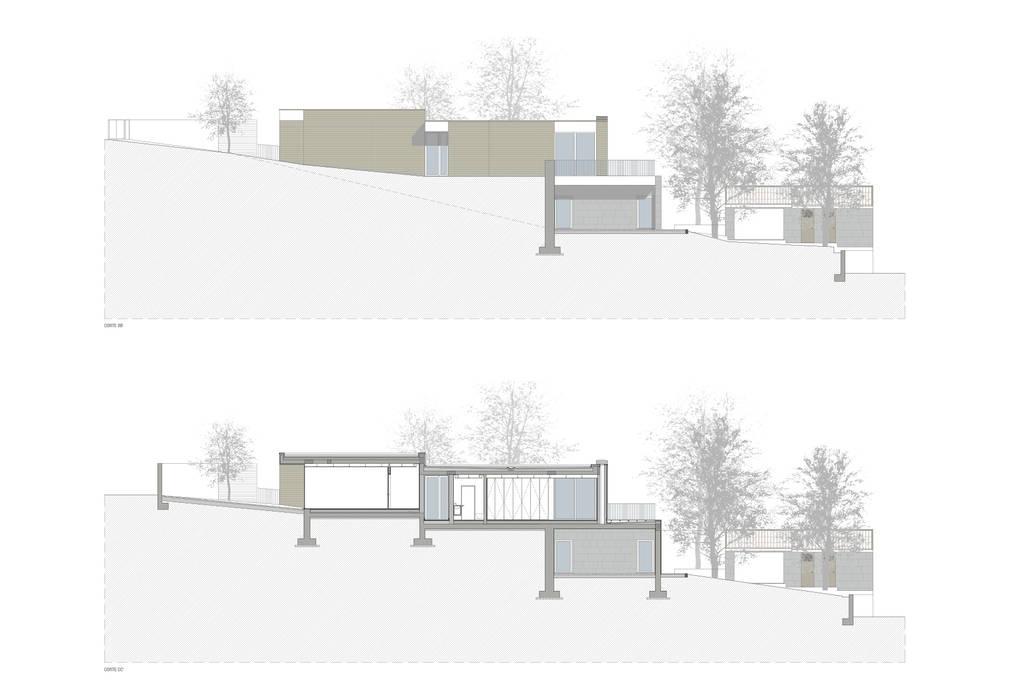 modern  by ASVS Arquitectos Associados, Modern
