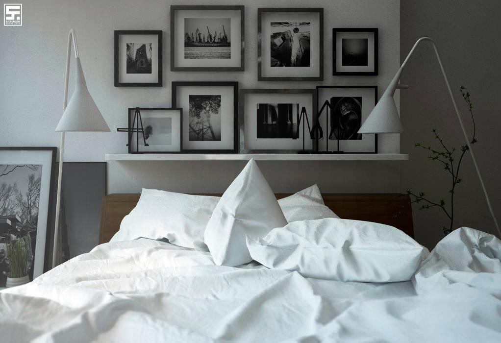 Minimalistische Schlafzimmer von homify Minimalistisch Holz Holznachbildung
