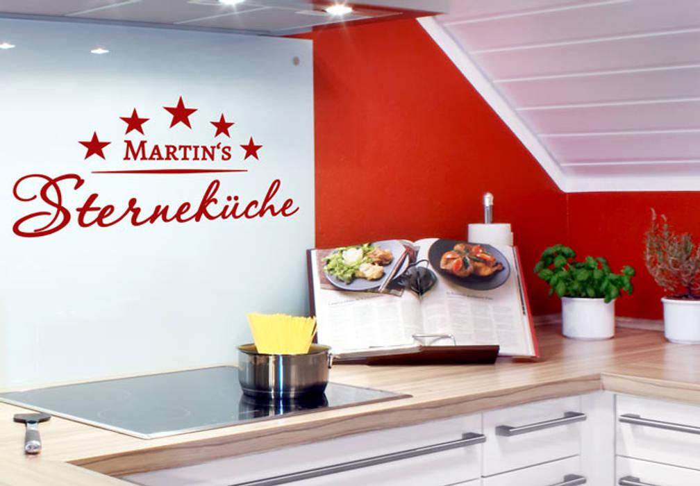 Name Für Küche   Wandtattoo Name Sternekuche Ausgefallene Kuche Von K L Wall Art