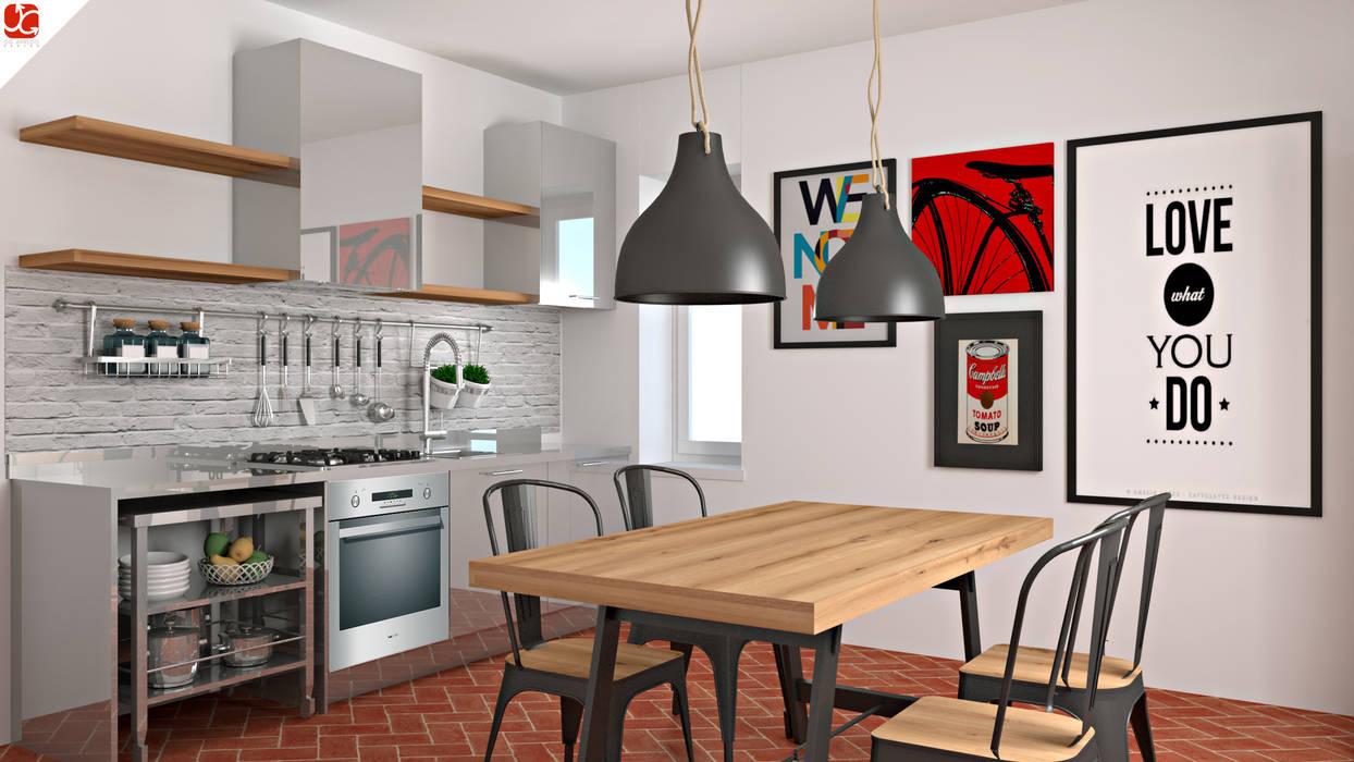 OGARREDO Кухня в стиле лофт Железо / Сталь
