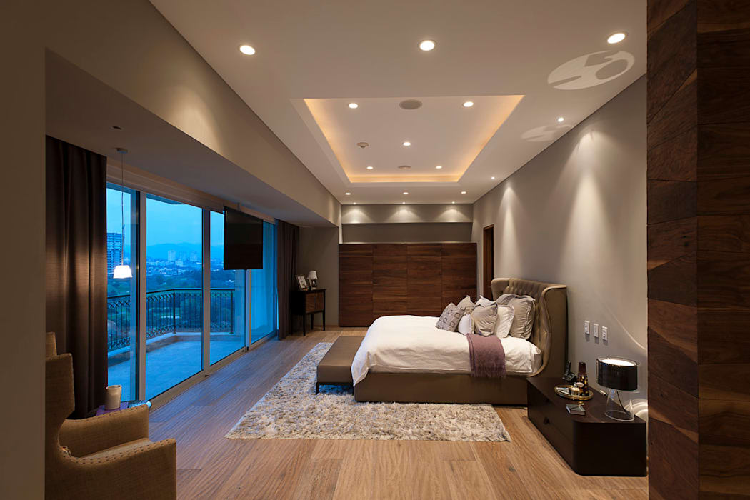 Kamar Tidur Modern Oleh ARCO Arquitectura Contemporánea Modern