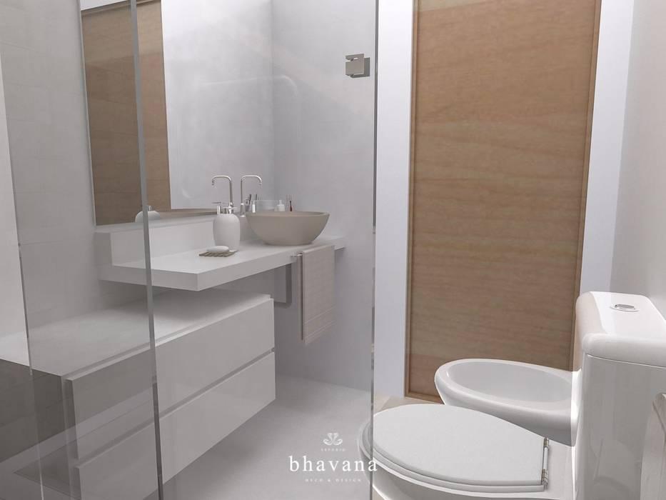 Baño principal Baños escandinavos de Bhavana Escandinavo