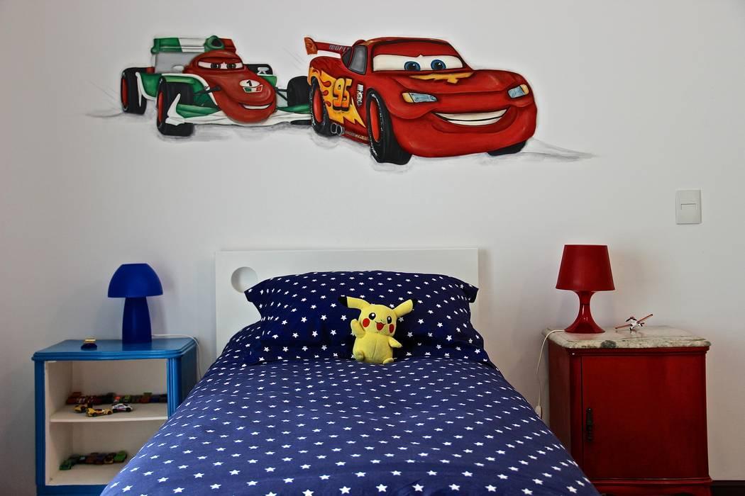 DORMITORIO HIJO 2: Dormitorios infantiles de estilo  por HOME UP