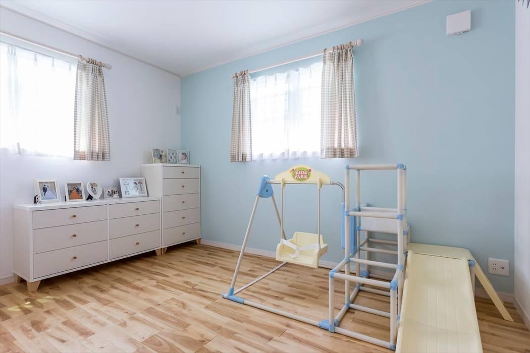 Phòng trẻ em phong cách Bắc Âu bởi ジャストの家 Bắc Âu