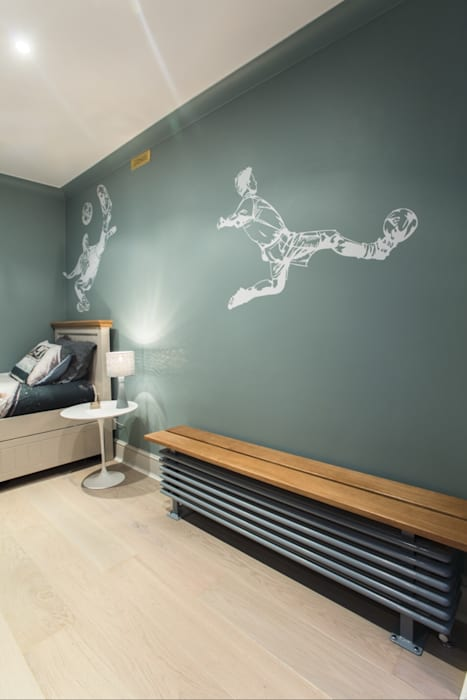 Bedroom painting in London NW3 AL PAINTING Modern nursery/kids room Wood Green