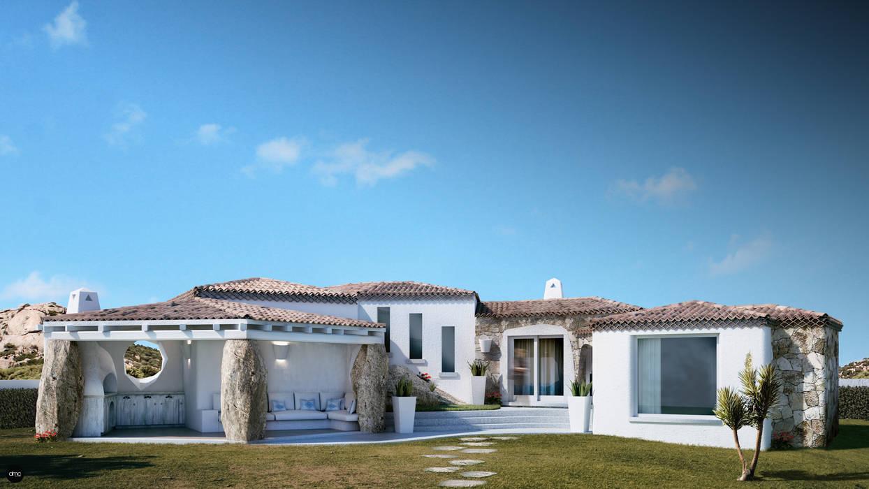 Maisons de style  par DMC Real Render, Méditerranéen