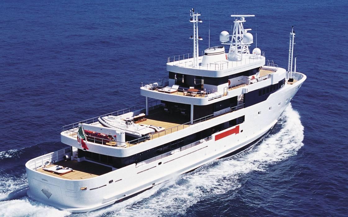 M.Y. TRIBU' Luca Dini Design Yacht & Jet in stile industriale