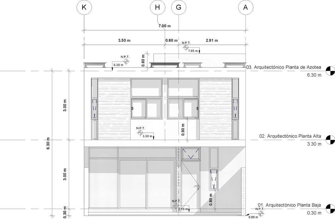 La Casa Osmio de Muret Studio Moderno