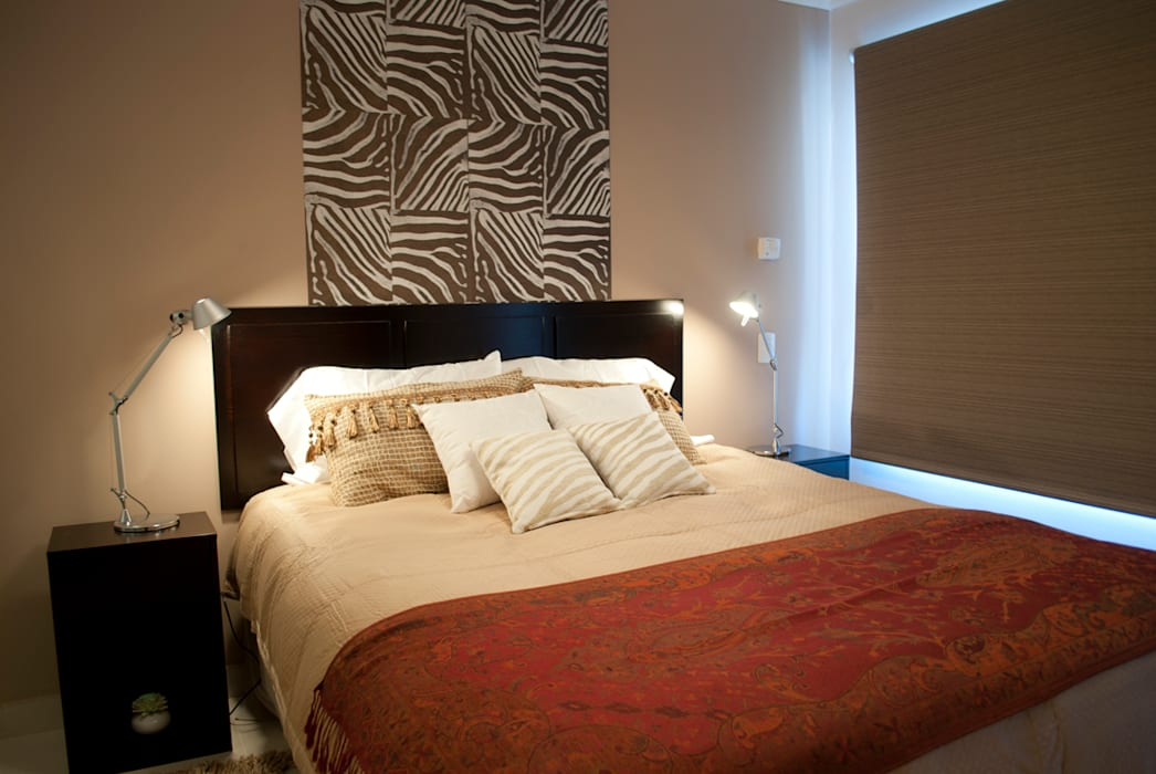 Africa mia...: Dormitorios de estilo  por Diseñadora Lucia Casanova,Ecléctico
